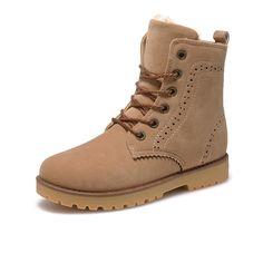 $45.99 (Buy here: https://alitems.com/g/1e8d114494ebda23ff8b16525dc3e8/?i=5&ulp=https%3A%2F%2Fwww.aliexpress.com%2Fitem%2F2016-New-Product-Autumn-Winter-Men-s-Women-s-boots-Unisex-Lovers-boots-High-help-Fashion%2F32697824933.html ) Men Women Boots Autumn Winter Unisex Lover Casual Shoes High Fashion Bullock Leather Plush Martin boot 2016 New Arrival for just $45.99