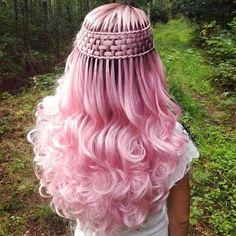 Twisted waterfallbraids - New Hair Styles Pretty Hairstyles, Braided Hairstyles, Popular Hairstyles, Pinterest Hair, Creative Hairstyles, Crazy Hair, Cool Hair Color, Hair Art, Hair Colors