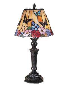 Table Lamp DALE TIFFANY 2-Light Fieldstone Zinc Metal New Hand-Rolled On/ DY-255