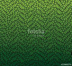 Vector: Vector green leaf pattern.