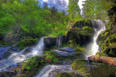 Upper Catawba Falls | These 20 Breathtaking Waterfalls are Hiding in NC
