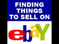 What to Sell on eBay  How to Find What does Sell #DSDomination #drop_ship_selling_on_ebay #How_to_sell_clothes_on_eBay