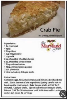 Swiss Cheese, Cheddar Cheese, Seafood Recipes, Diet Recipes, Minced Onion, Milk Cup, Crab Meat, Stuffed Green Peppers, Mayonnaise