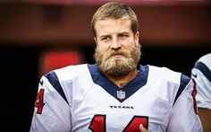 Houston Texans QB Ryan Fitzpatrick Shaves His Massive Beard After Regaining Starting Job [PHOTO] | FatManWriting