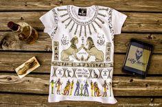 """""""HARDCORE PARTY"""" #cityhero #tee #teeshirt #tshirt #egyptian #sphynx #party #hard #provokative"""