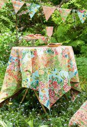 Garden Patchwork Tablecloth