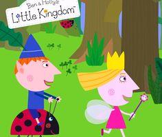 El pequeño reino de Ben y Holly - Dibujos animados, españoles niños