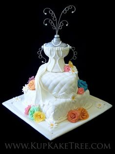 Corset Bachelorette party cake