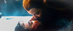 Kili and Tauriel's first and last kiss.//*growls* *explodes* *pins anyway because I don't have a picture of this yet*