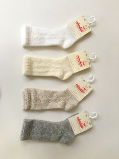 f6a25559ec364 Lace socks By Condor in white, cream, beige & grey. Clothing Stores,