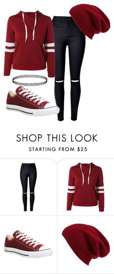 """Untitled #748"" by angelbabyblondi on Polyvore featuring Converse and Halogen"