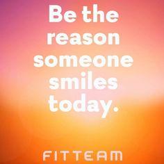 #smile #happiness #fitteam  www.fitteam.com/mindyleonard