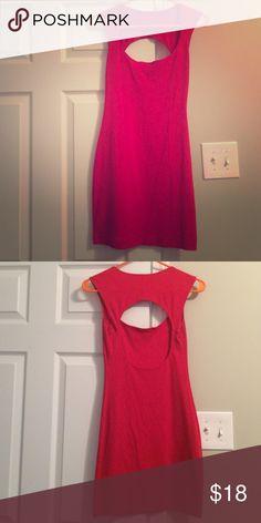 American apparel tank dress Tight red American apparel dress American Apparel Dresses