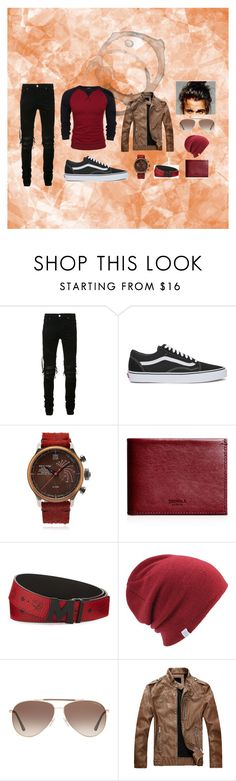 """""""Untitled #11"""" by destinybunch on Polyvore featuring AMIRI, Vans, Terra Cielo Mare, Shinola, MCM, Coal, Tom Ford, men's fashion and menswear"""