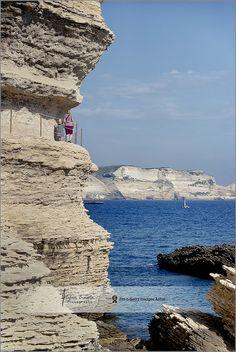 Escalier du Roi d'Aaragon | King Aaragon Steps  Bonifacio, Corsica, France