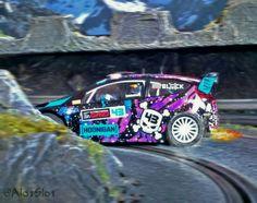 Ford Fiesta RS WRC (Scalextric) in my Slot Car Track #ford #fiesta #fordfiesta #kenblock #hoonigan #slotcartrack #slot #hobby #scenary #slotcar #alotslot #scalextric #scx #ninco #carrera #slotit #rally #rallycar #racing #race #dreamcar #wrc #gp #gt #f1 #lemans #diorama #scale132 #hobby #modelism #diecast  #miniature #picture #painting #art #pista #rally #wrc #modelcar #modelism #maqueta