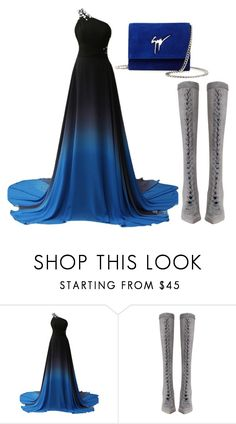 """""""bluey"""" by bethanyperoff ❤ liked on Polyvore featuring Zimmermann and Giuseppe Zanotti"""