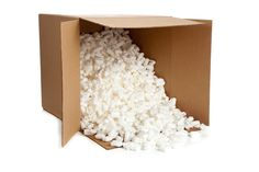 Many of us have shared the guilty twinge of pouring a box of packing peanuts into a trash bag, knowing that our convenient foam waste will end up sitting in a landfill for the next few thousand years. Soon, however, we may be able to juice these little nuts for energy.