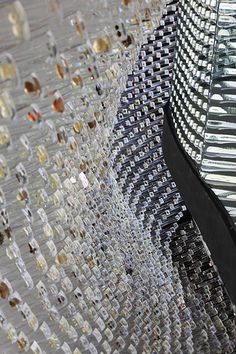 Seed Cathedral: UK Pavilion for the Shanghai 2010 Expo. The Seed Cathedral is a 20-metre high building, constructed from 60,000 transparent 7.5-metre long optical strands, each of which has embedded within its tip a seed. The interior is silent and illuminated only by the daylight that has filtered past each seed through each optical hair. A formidable collection of the world's botanical resources.