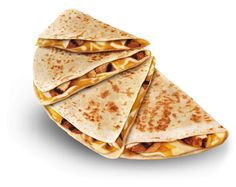 Chicken Quesadilla. You may not like Taco Bell but this is literally one of the best! The steak quesadilla over at the Taqueria is really good too