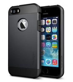 Spigen SGP iPhone 5 5s Tough Armor Case schwarz