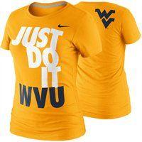 @Fanatics ® #MyFanaticsWishList Nike West Virginia Mountaineers Womens DNA T-Shirt
