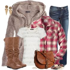 """Flannel Shirt Contest"" by kginger on Polyvore"