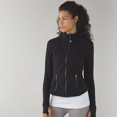 Lululemon Hustle in Your Bustle Jacket BNWOT.....Size 6. Worn once to try on. Great for petite frame since a lil shorter than define jacket. Cheaper on Merc. lululemon athletica Jackets & Coats