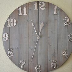 diy clock LOVE LOVE