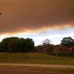 Smoke in Sydney #fire #sydney #bushfire @Costa Arvanitopoulos