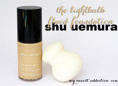 Shu Uemura The Lightbulb Fluid Foundation - My Newest Addiction Beauty Blog