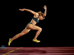 Lolo Jones for TIME. Photo by Martin Schoeller