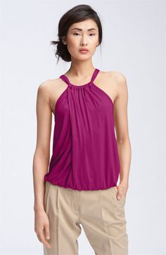 Trina Turk 'Imma' Draped Halter Top available at #Nordstrom