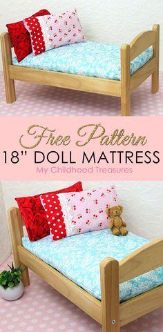 How To Make A Doll Mattress Diy Pattern
