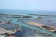 A Terceira Dimensão - Fotografia Aérea: Ria Formosa - Barra de Tavira - Quatro Águas