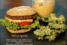 Nutless Veggie Burger Patties