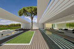 Catalunya villa by JM architecture _