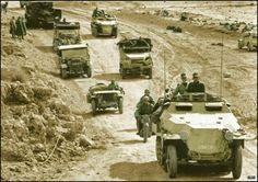 Mit Rommel in der wüste...