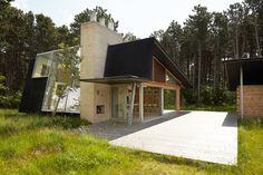week end house, Hald Strand Kattegat  Denmark : Karsten Jensen Architect MAA