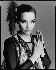 Björk by Helmut Newton.