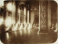 Maid of honor and Mistress Formation in Empress Hall of the Grand Kremlin Palace.