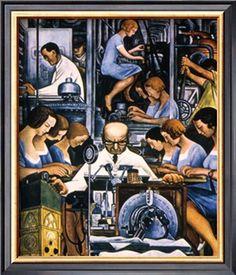 Diego Rivera - Mechanization 1932