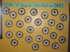 Dozens of things we love about our Dad! An Interesting Mix: Donuts with Dad!