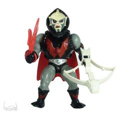 We had a Hordak but didn't have any other males from She-Ra so he was usually She-Ra's boyfriend even though he was a bad guy.