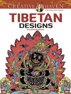 Inspired by the living legacy of Tibetan art, this vibrant coloring book features 31 designs adapted from authentic scroll paintings and mandalas. The pages are perforated and printed on one side only for easy removal and display. Previously published as  Tibetan Designs .