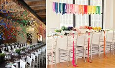 The best way to use rainbow bright accents in your wedding decor is to combine it with fresh white. Description from silverlandjewelry.com. I searched for this on bing.com/images