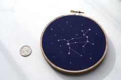 Canis Major Constellation Embroidery 4 Hoop by SargassoShop