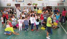 """PAÍS DE XAUXA. TOSSA de MAR. Foto grup de la festa a l'escola bressol """"Els petits mariners"""" #paisdexauxa #tossademar"""