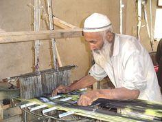 Hotan-Atlas Silk Factory Master Weaver