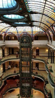 Vitrales del Gran Hotel de la Ciudad de México